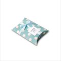 Small Fancy Packaging Pillow Box With Ribbon