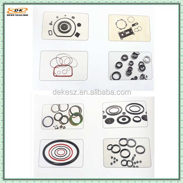 OEM coforful food grade silicone rubber gasket