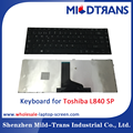 Replacement laptop Internal keyboard for Toshiba L840 SP language layout