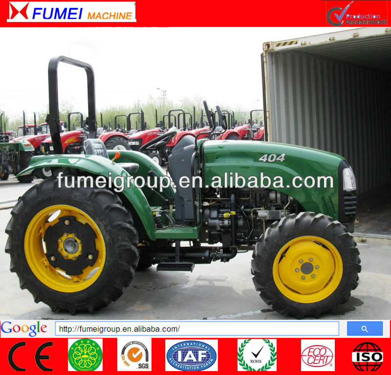 hot sale 40hp 4wd cabin tractor