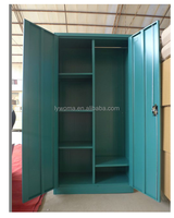 Godrej metal design bedroom wall wardrobe/Home furniture steel clothes storage cupboard