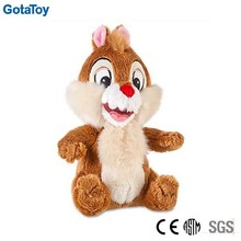 High quality custom plush toy squirrel
