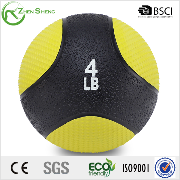 Zhensheng High Quality Solid Rubber Medicine Balls