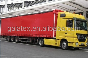 Fire Retardant , Mildewproof Truck Curtain Side tarpaulin