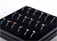 316L Surgical Steel Body Piercing Jewelry 18pcs/set Crystal Nose Rings Nose Studs