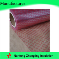 insulation materials diamond dotted pattern polyethylene film for transformer separator film
