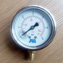 bourdon tube pressure gauge