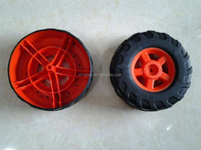 Plastic Injection Molding for Plastic Toy Car Wheel Mould