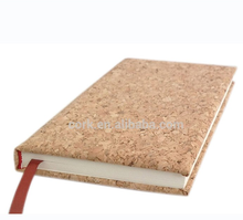 Popular Antique Cork Cover Notebook with Bank