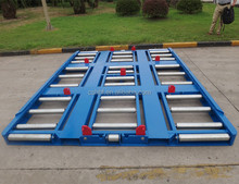 Spare Part of Tractor Slave Plate and roller platfrom of Container Dolly Pallet Trailer