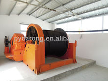 40Ton electric slipway winch for ship launching, loading, floating