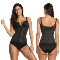 5 COLORS Women Latex Rubber Waist Training Cincher Steel Boned Corset Shaper Shapewear xs-6xl