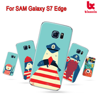 For Samsung S7 Edge 2D digital color printing case sublimation mobile phone colorful cover Alibaba wholesale mobile case