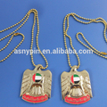 3D Gold UAE Falcon Necklace For 47 United Arab Emirates national day gifts