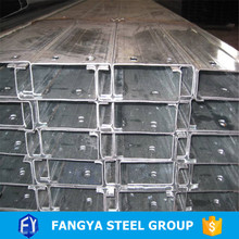 trade assurance supplier ! c shape steel beam perforated strut steel c channel