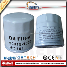 High quality car oil filter 90915-03001 90915-10001