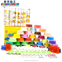 DIY educational safe non-toxic plasticine modeling clay 36 colors