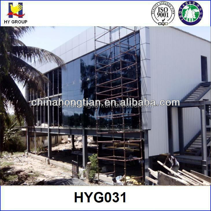Two storey prefabricated modular office building