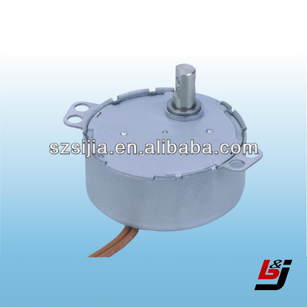 synchronous motor for electric fan and pump