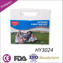 HY3024 Outdoor First Aid Kit For Hiking,Camping,Fishing,Biking,Boating,Travel And So On
