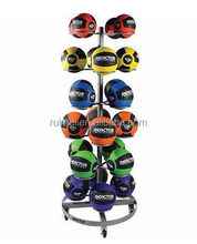 Floor Standing Wholesale Basketball Display Rack