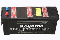 best selling car accessories dry charged automotive/car battery 12v135Ah auto parts