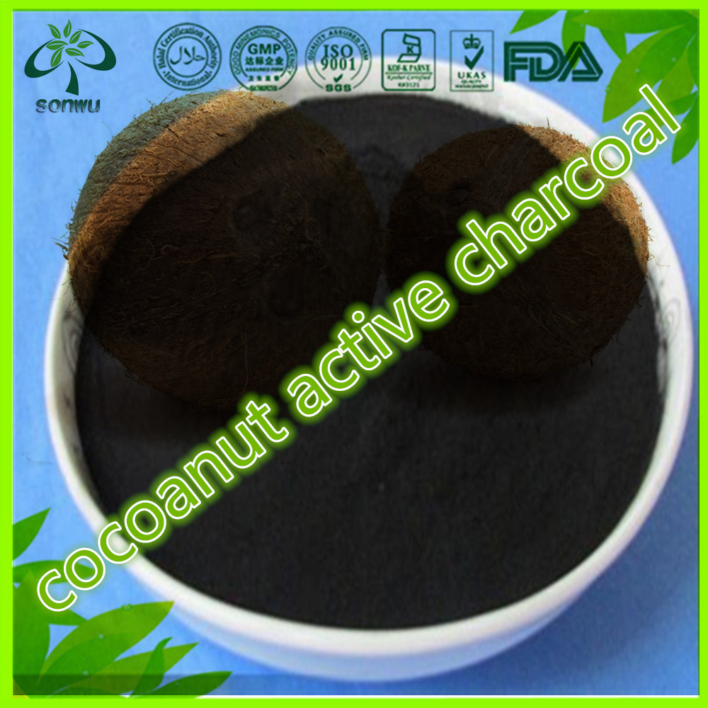 Natural Coconut Shell Granular Activated Carbon Cocoanut activated Charcoal powder for Remove Mercury (Hg)