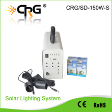 portable 10w home solar power system India