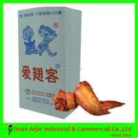 Square Bottom Food Packaging Fried Chicken Carryout Bags
