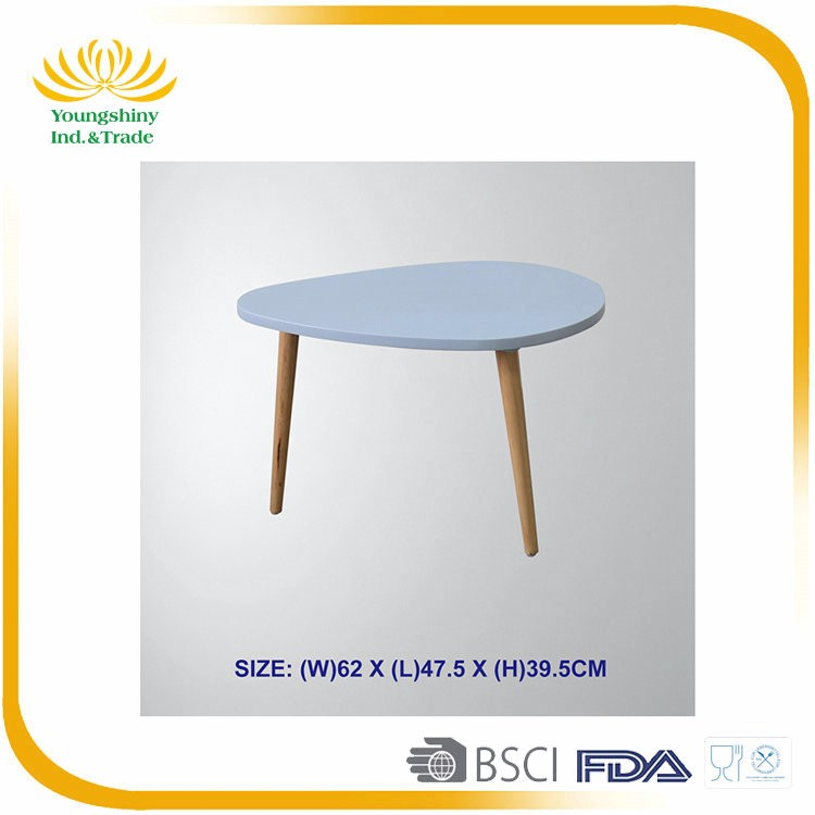 Factory price durable modern table bar, long wooden high bar table