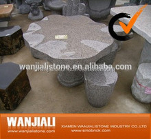 Outdoor Natural Stone Granite Table And Chair