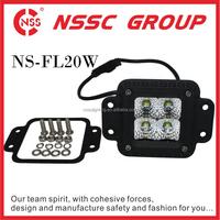 led lamp manufacturers wholesale white light auto lighting led pod lights kit for trucks