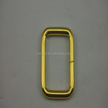 Handle loops with swivel clasp handle buckle ring buckle metal plate buckles for bags