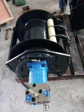 1-20Ton hydraulic winch high speed hydraulic winch for lift goods free fall function