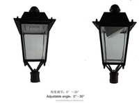Chinese manufacturer CE&RoHS approved LED garden lamp garden lights with solar standing solar lamp for outside post lights