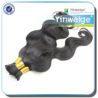 synthetic kinky curly human brazilian braiding hair