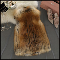 Online shopping for wholesale clothing white faux fur all over and an open front womens fur vest