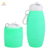 china bulk items collapsible silicone water bottles sports water bottle with straw FDA/LFGB approved