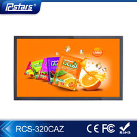 2017 New 32 inch Commercial Android Advertising LCD Player With USB/SD/WiFi/3G/WLAN Inputs