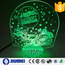 USB Power Color Changing Decoration Christmas Night Light