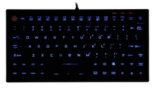 Industrial silicone Keyboard JH-IKB850BL with Integrated Mouse Buttons and Backlit waterproof and washable