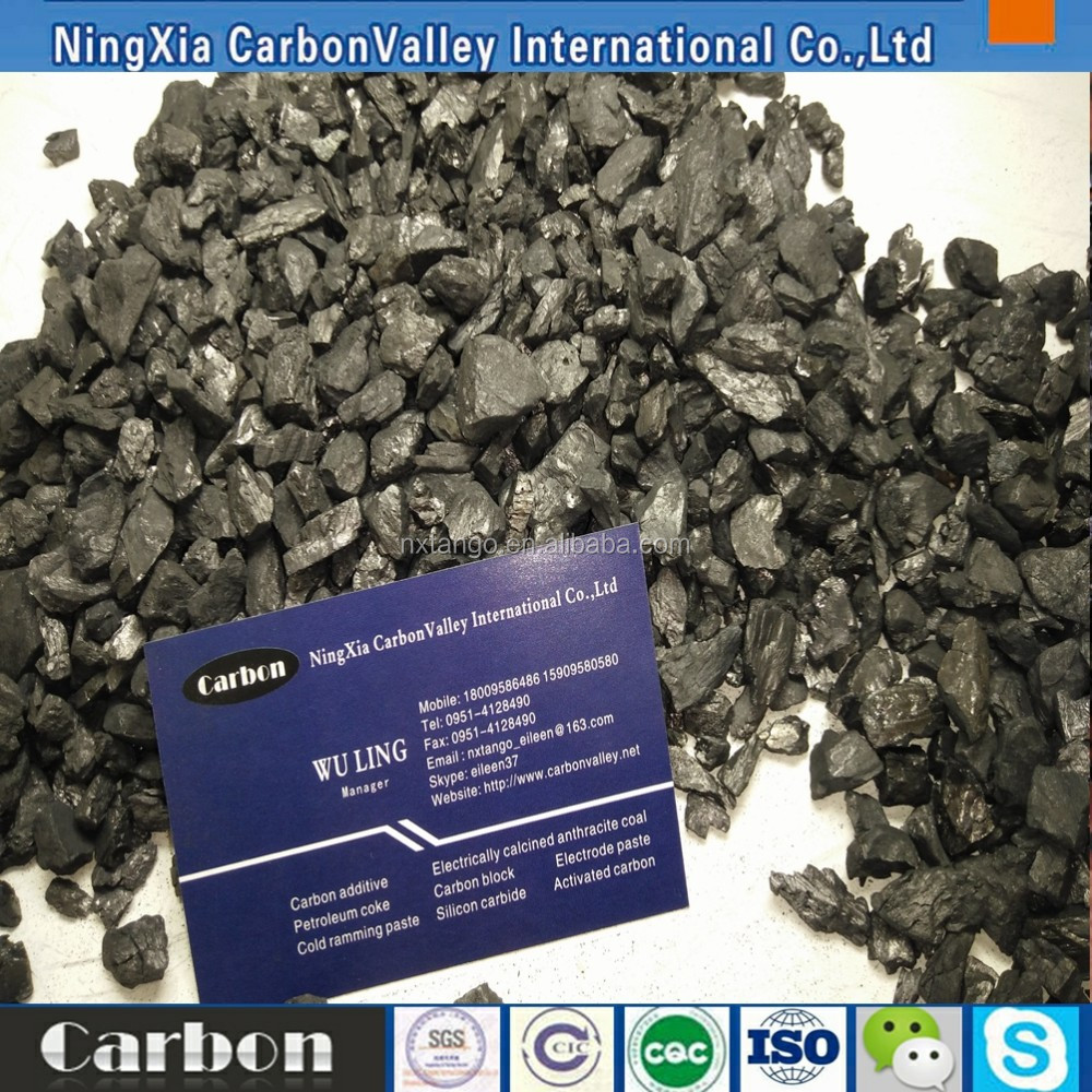 Ningxia anthracite carbon additive 3-5mm
