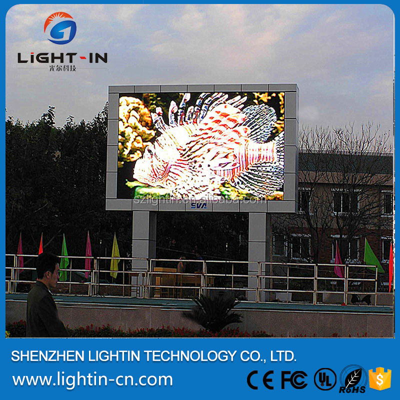 Outdoor High quality p4.81 led tv show background led video wall screen p6 made in China