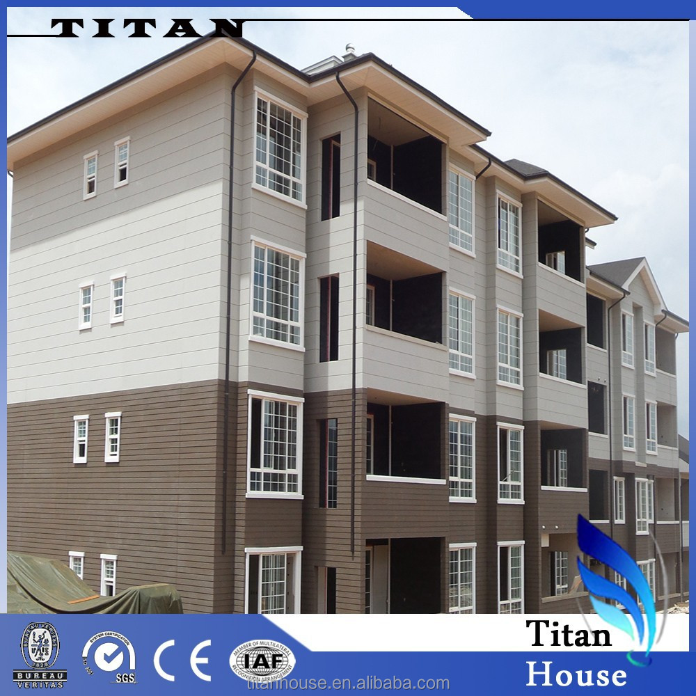 High Rise Galvanized Steel Frame Kit Apartment Buildings