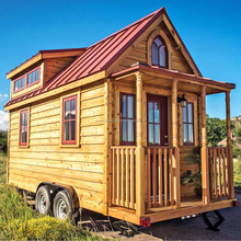 Low cost prefab tiny home with dream design.
