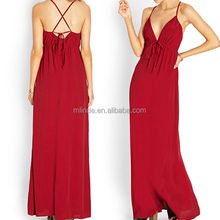 Sweetheart Halter V-neck A-line European Style Prom Dress In Stock, Highend Apparel Manufacture China