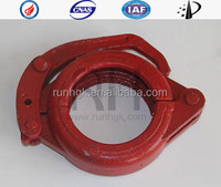 "Pipe clamp 3.5""(Concrete pump parts, pipe, elbow, reducer, rubber hose, cylinder)(Putmeister, Schwing, Sany, Zoom, KCP, Junjin)"