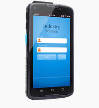 IP65 rugged android uhf rfid reader with 4G,wifi, barcode scanener