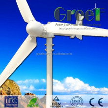 1000w horizontal wind generator /windmill with ISO9001 made in china