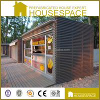Eco-effective Demountable prefab log cabin kits for sale